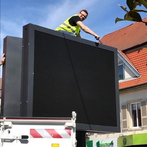 2 installation ecran exterieur
