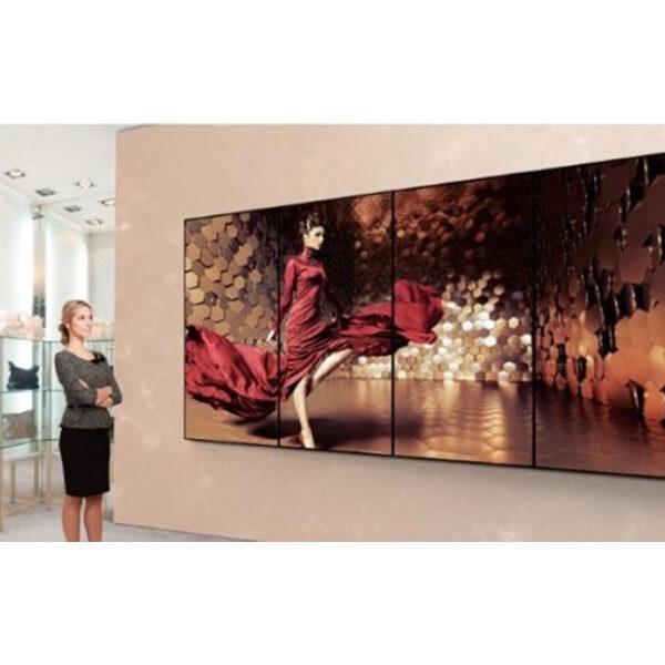 mur d'image 4 ecrans intérieur