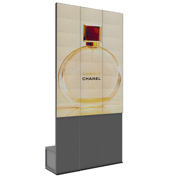 totem ecran interieur Chanel 3 modules